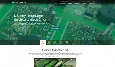 EDISON launches new website